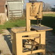 Used Parma Roll-in bandsaw, used Parma work-a-matic band saw, Dake roll-in band saw, Dake roll-in bandsaw, Roll-in band saw, Parma Work-A-Matic, used vertical bandsaw, scie roll in, scie Roll-In, scie verticale usagée